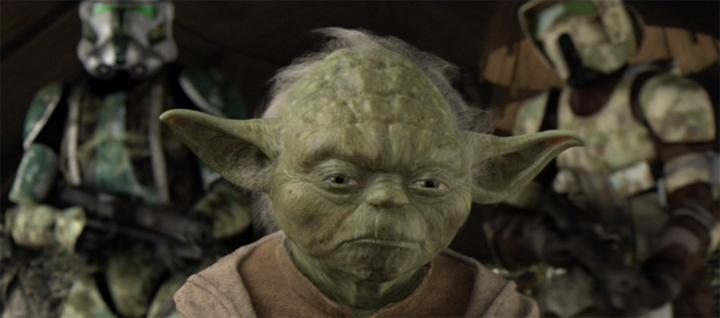 Order 66 Yoda on Kashyyyk