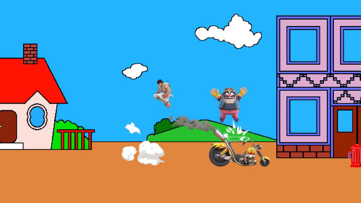 Super Smash Bros Ultimate - Pac-Land