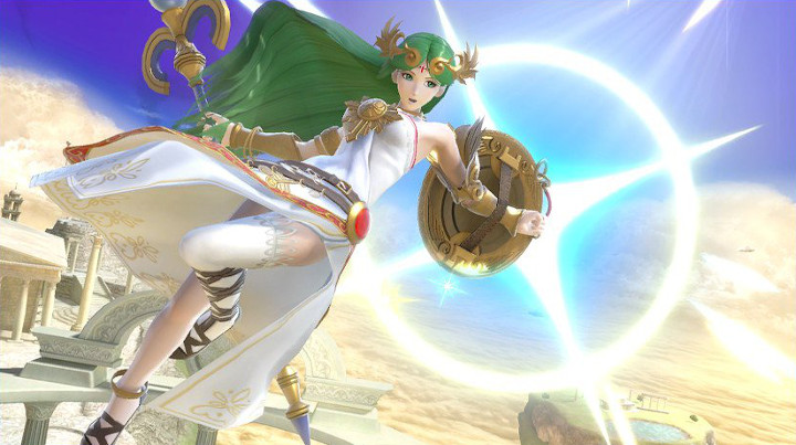 Super Smash Bros Ultimate - Palutena