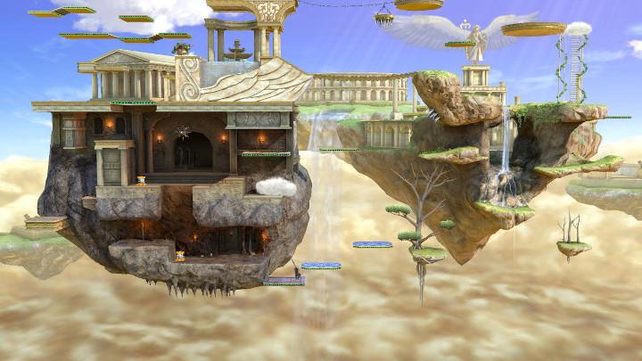 Super Smash Bros Ultimate - Palutena's Temple