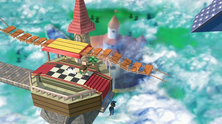 Super Smash Bros Ultimate - Peach's Castle