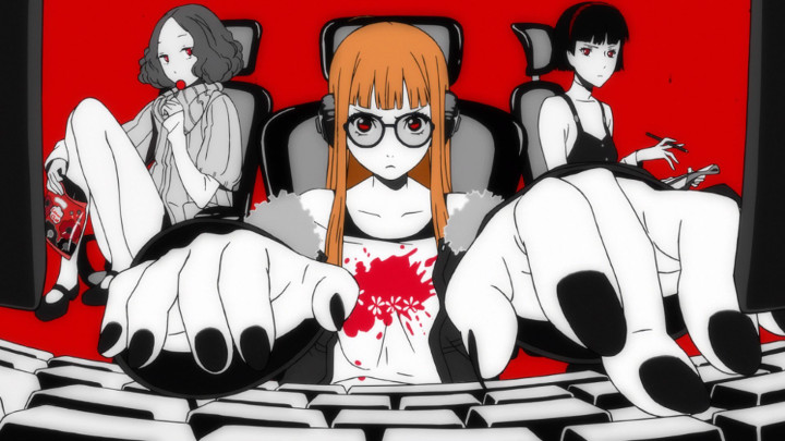 Persona 5 - Fukaba, Haru, and Makoto