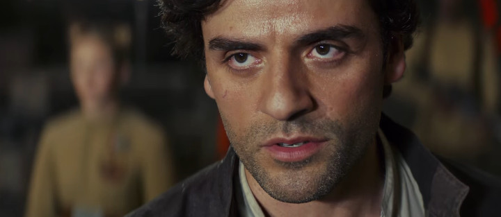 Poe Dameron in The Last Jedi