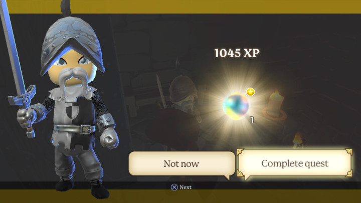 Portal Knights and Hector with His Energy Crystal