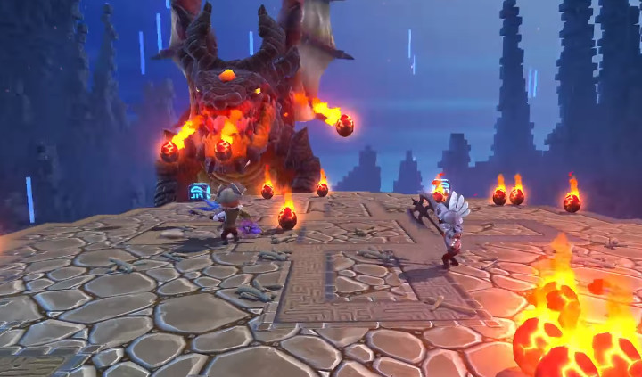 Portal Knights Dragon Fight
