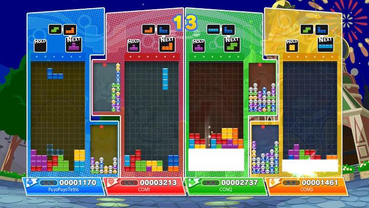 puyo puyo tetris demo