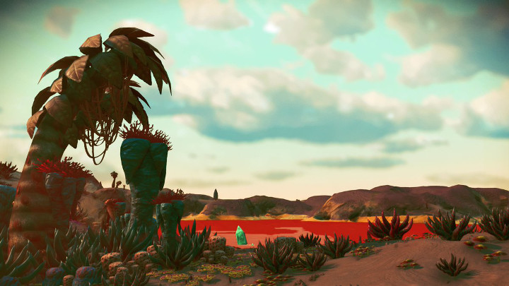 No Man's Sky Red Ocean