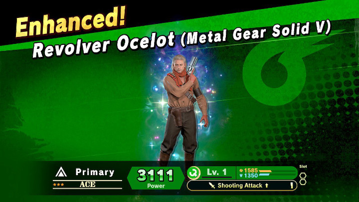 Super Smash Bros Ultimate - Revolver Ocelot Spirit