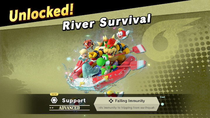 Super Smash Bros Ultimate - River Survival Support Spirit