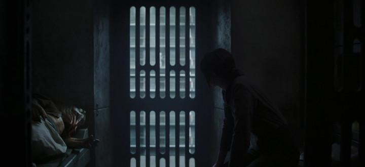 Rogue One Jyn in Prison