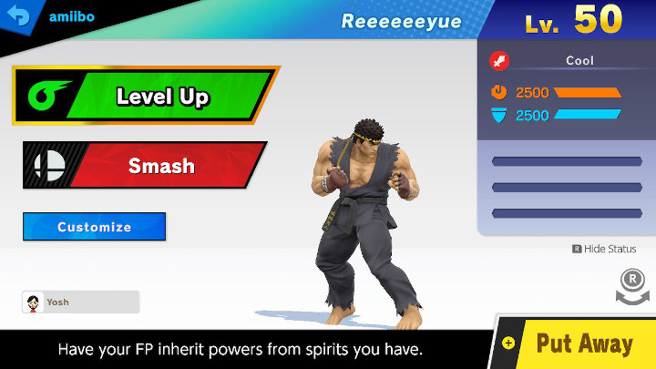 Super Smash Bros Ultimate - Ryu Amiibo