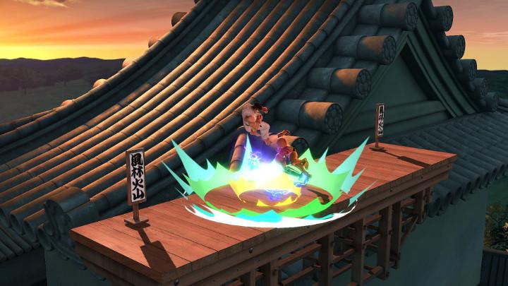 Super Smash Bros Ultimate - Ryu and Samus