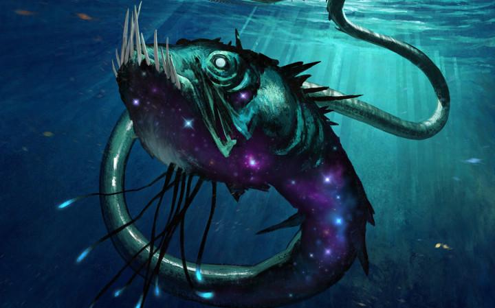 MtG Serpent of Yawning Depths
