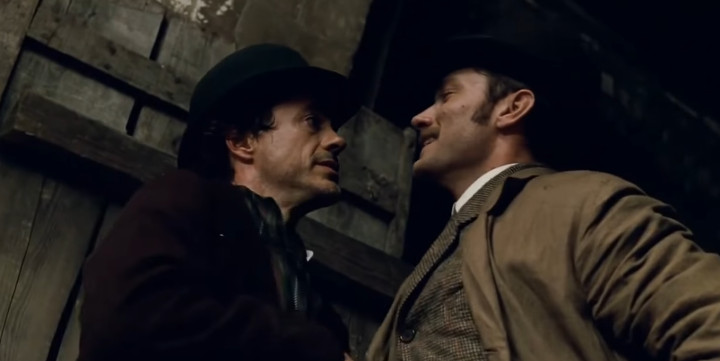 Sherlock Holmes - Robert Downy Jr. and Jude Law