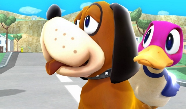 smash bros duck hunt dog