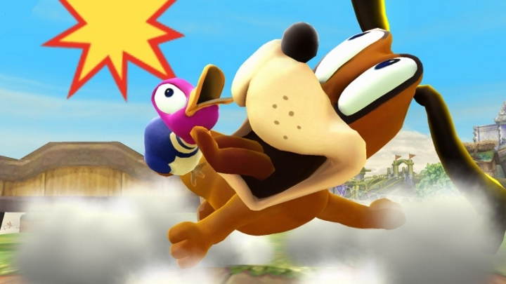 smash bros duck hunt