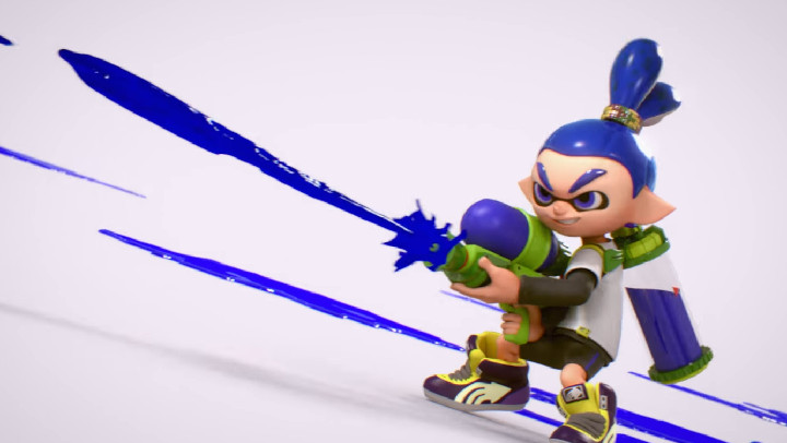 Super Smash Bros. Ultimate - Inkling Boy