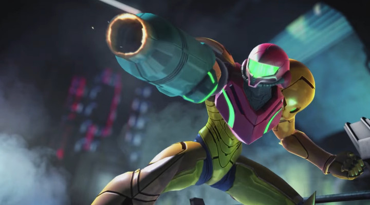 Super Smash Bros Wii U - Samus