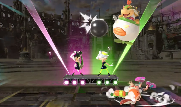 Super Smash Bros Ultimate - Squid Sisters
