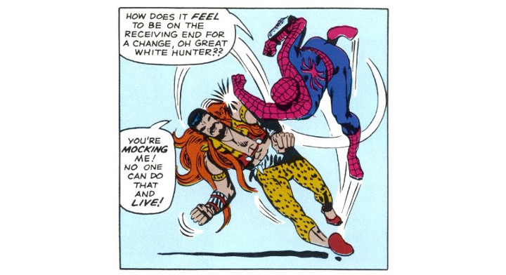 Amazing Spider-Man Panel