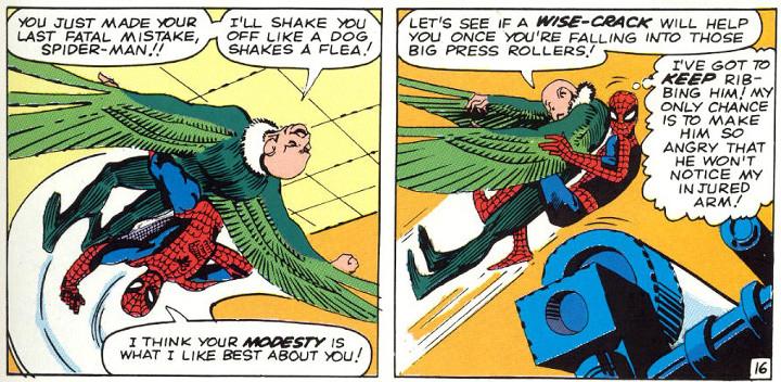 Amazing Spider-Man Panel