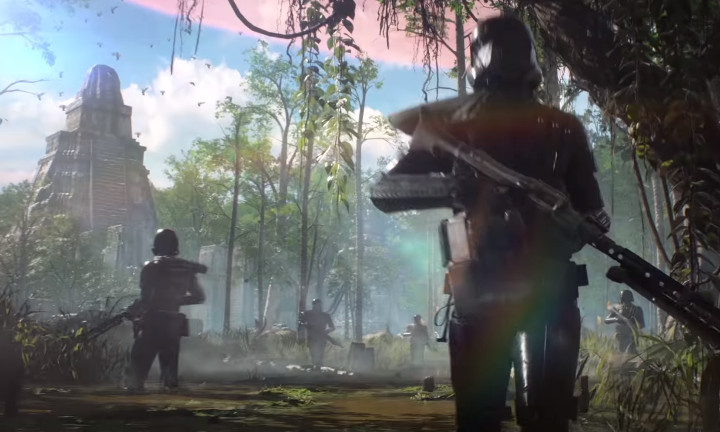 Star Wars Battlefront 2 Yavin