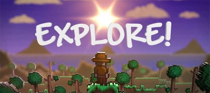 Terraria Explore