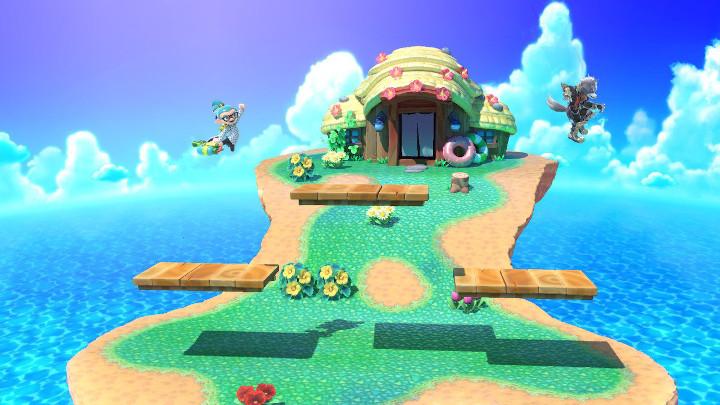 Super Smash Bros Ultimate - Tortimer Island Battlefield