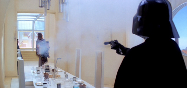 Star Wars - Vader in Cloud City