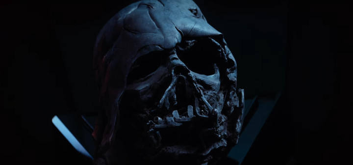 The Force Awakens - Vader's Helmet