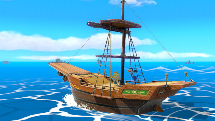 Super Smash Bros Ultimate - Pirate Ship