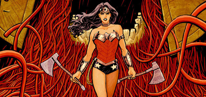 wonder woman blood